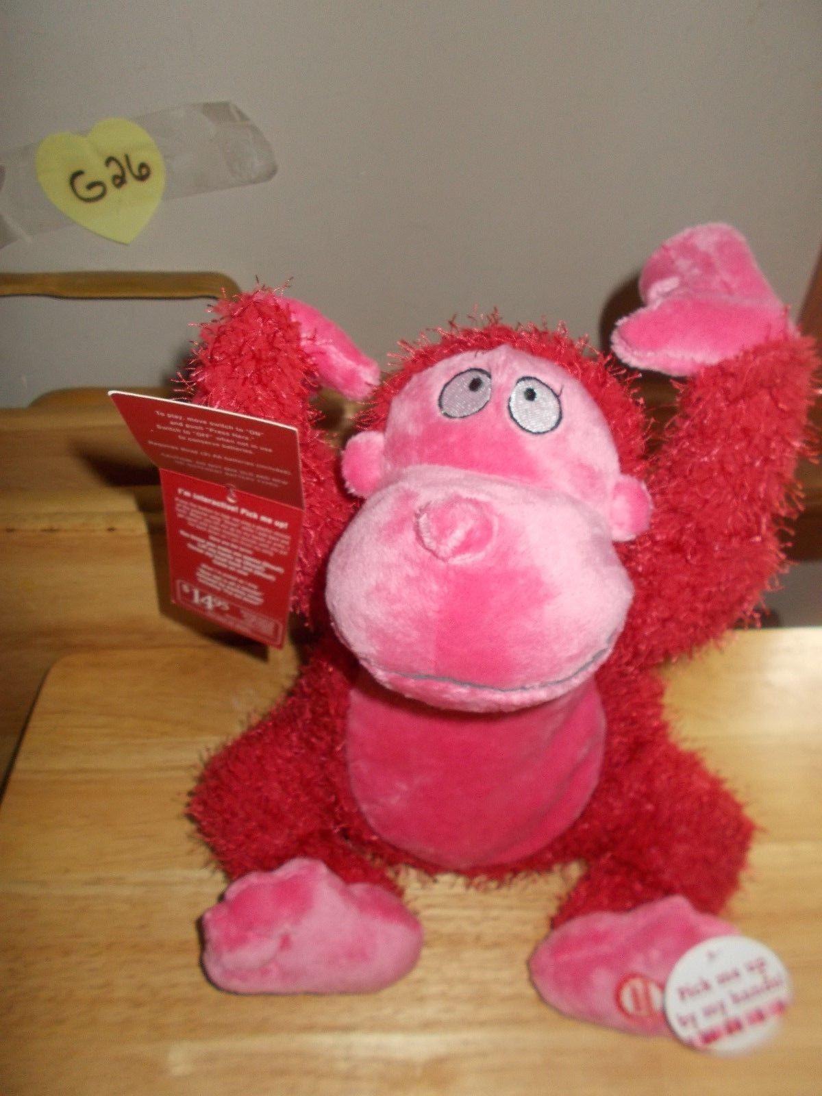 Hallmark Valentine Ape, Pick me up and I go Ape Plush