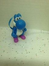 Super Mario Brothers Yoshi Blue Nintendo Christmas Ornament - $12.88