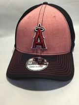 Los Angeles Angels Hat Cap, Large XL, Black Red,  - $14.54