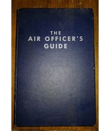 The Air Officer's Guide 12th Edition Hardcover 1961 Stackpole Company - $14.85