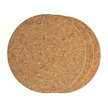 4440-Round Cork Trivets 6pk by Fox Run - $18.92