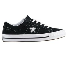 Converse Big Kids One Star Ox Black Suede 261794C Grade School Shoes  - $54.95