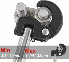 Basin Wrench Capacity of 3/8-Inch to 1-1/4-Inch, 10-Inch Reach image 3