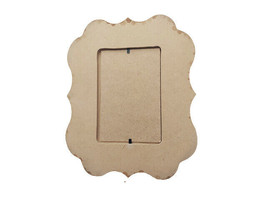 """MDF Frames, 10.25"""" x 8.25"""", Paint or Decorate to Make It Your Own! image 2"""