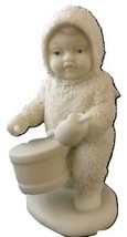 Snowbabies Figurine - from 1980's - Shall I Play For You  - $20.00