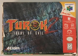 N) Turok 2 Seas of Evil (Nintendo 64) Video Game - $19.79