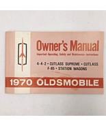 1970 Oldsmobile 442 Cutlass Supreme Original Owners Manual Guide Instruc... - $24.95
