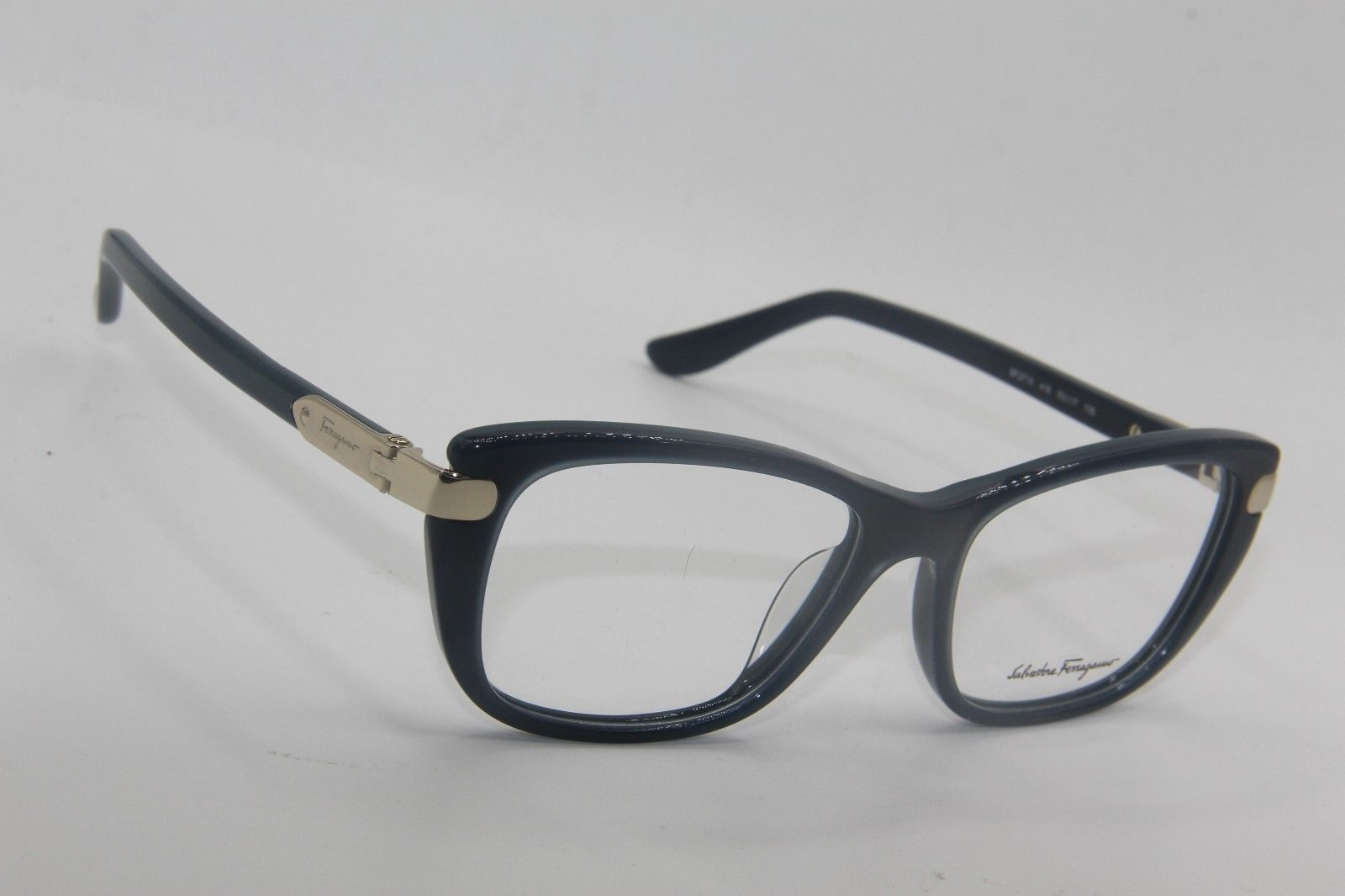 1c3ad8a186 NEW SALVATORE FERRAGAMO SF 2719 416 BLUE EYEGLASSES AUTHENTIC RX SF2719  53-17