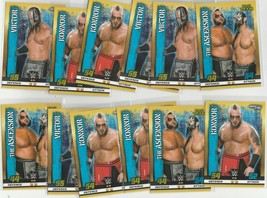 Slam Attax Topps WWE The Ascension Konnor Viktor Lot of 16 Cards - $3.36