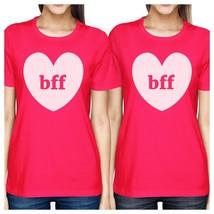 Bff Hearts BFF Matching Hot Pink Shirts - $30.99+