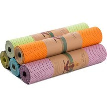 Honeycomb Yoga Mat Thick Non Slip Breathability Fitness Gym Sports Pilat... - £36.48 GBP