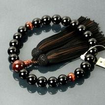 Buddhist Rosary Mala Juzu Prayer beads Japan Kyoto Red Tiger eye onyx - $162.70