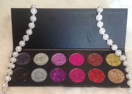 12 36 mm Mesmerizing Hand Pressed Color Assortment of Glitter Eyeshadow - $56.00