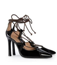 Tory Burch Lace-Up Pumps Retail: $395 - $175.00