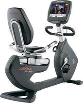 "Life Fitness 95R Engage Recumbent Bike - 15"" LCD Monitor 