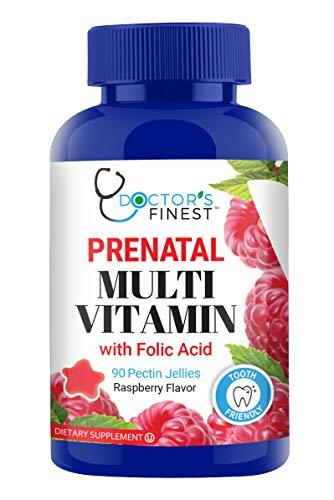Doctors Finest Prenatal Multivitamin W/Folic Acid & Iron Gummies - Vegetarian, G