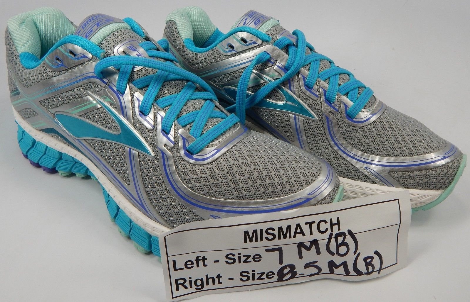 MISMATCH Brooks GTS 16 Size 7 M (B) Left & 8.5 M (B) Right Women's Running Shoes