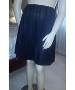 "Vtg Vanity Fair Sz L/G/22"" Black Silky Nylon Half Slip Style 11-711 USA ... - €6,78 EUR"