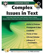 Common Core: Complex Issues in Text - $9.99