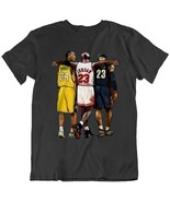 Kobe Bryant  Black Cotton T-shirt For men - $11.99