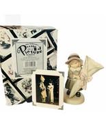 Pretty as Picture Kim Anderson figurine vtg NIB box candle holder light ... - $48.33