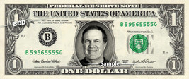 BILL BELICHICK on Real Dollar Bill Cash Money Collectible Memorabilia Ce... - $8.88