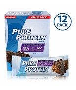 Pure Protein--High Protein Bar Chewy Chocolate Chip Multipack--Protein B... - $15.48