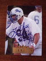 Luther Ellis 1995 Fleer Ultra Football Card #100-AUTOGRAPHED-PSA & PSA/DNA Pop 0 - $29.69