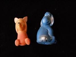 Disney Winnie The Pooh Figure Lot Piglet Eeyore Vintage - $18.99