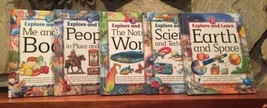 Explore and Learn Set 1,2,3,4,5 Science Books Homeschool Southwestern Ad... - $20.00