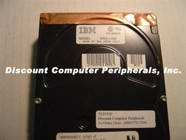 Rare IBM WDA-L42S 42 Megabyte 3.5IN IDE Drive Tested Good Free USA Shipping