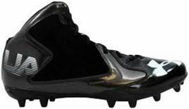 New in Box Under Armour Kids' Fierce Phantom MC Football Shoe Black Size 1.5Y - $42.75