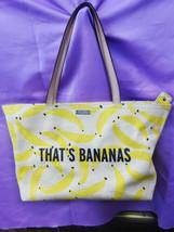 Kate Spade Designer That's Bananas Francis Tote Bag - £124.15 GBP