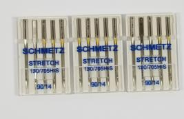 Schmetz Stretch Needles Size 90/14 3 packs - $17.95