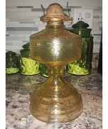 VTG P&A MFG Amber Oil Lamp with Eagle burner  - $60.00