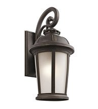Kichler 49414RZ Ralston Outdoor Wall Sconces 12in Rubbed Bronze - $350.00