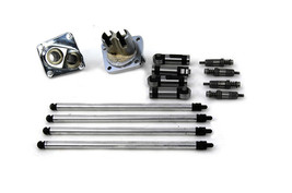 Sifton Hydraulic Lifter and Pushrod Kit Chrome for FL 1953-1965 Harley Davidson - $415.80