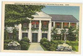 Shelburne Falls MA Sweetheart Tea House Linen 1937 Vintage Postcard - $6.95