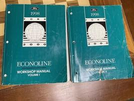 1998 Ford Econoline E150 E250 E350 Van Shop Service Repair Manual 7.3L Diesel - $59.39