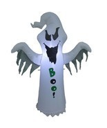 4 Foot Tall Halloween Lighted Inflatable Ghost BOO Yard Party Outdoor De... - $63.32 CAD