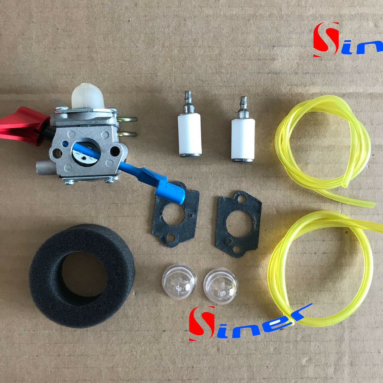 Primary image for Carburetor Air Filter Kit For Zama C1U-W46 545180864 Weedeater FB25 FB-25 Blower