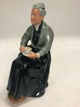 Vintage Royal Doulton Cup of Tea HN 2322 figurine grandma drinking tea - $79.19