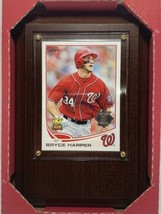 2013 TOPPS #1 BRYCE HARPER LOOKING LEFT ALL STAR ROOKIE NATS SEAL - $14.03