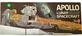 VTG 1967 Revell APOLLO LUNAR SPACECRAFT Model SEALED Kit H-1838:600 1/48... - $139.92