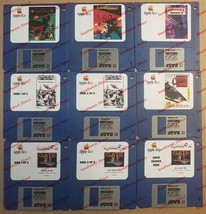 Apple II IIe IIc IIgs Vintage Game Pack #2 *Comes on New Double Density Disks*
