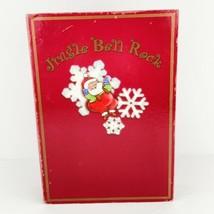 Jingle Bell Rock Book Lighted Animated Musical Christmas Decor Santa's W... - $24.74