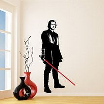 (48'' x 94'') Star Wars Vinyl Wall Decal / Anakin Skywalker with Lightsaber Die  - $108.88