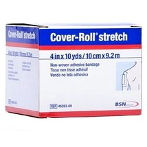 """BSN 45553  Medical Cover-Roll Stretch Adhesive Bandage, 4"""" x 10 yd. - $17.99"""