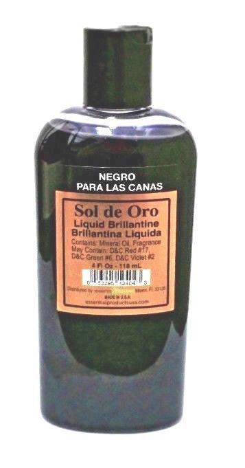 2 Sol de Oro Brillantina Liquida Gray Hair Cover Up Canas