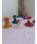 Christmas Bell Ornaments   Christmas Ornaments   Macrame Ornaments   Xma... - $14.00